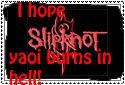 Anti-Slipknot slash stamp by weirdofreako17