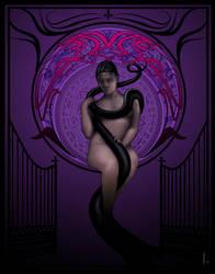 The Infernal Crescent City (Purple) by damonteufel