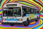 disco bus unpixelized 3 by abitibien