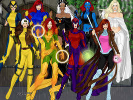 X Men by SydneyRoman
