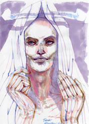 Portrait: Tiamat by peannlui