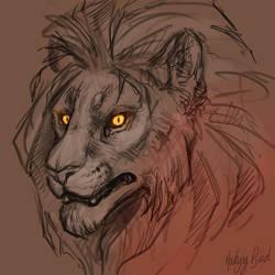 Lion by Mocking-Bird-Star