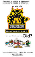 KND Operation REVENGE Poster by delmardavis
