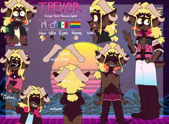 Trevor reference. by DanielaKazuma