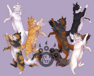 Dancing Cats by EvlonArts
