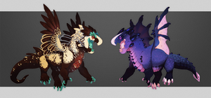 Pocket Dragons [CLOSED] by TornTethers