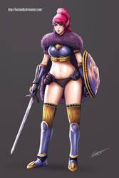 Selina Concept ( Original Character ) by BartonDH