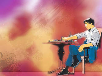 Roy Mustang- Wallpaper by Peacefulmemory8