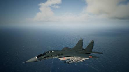 Erusian MiG-29A Fulcrum (Ace Combat 7) by GulfKiller101