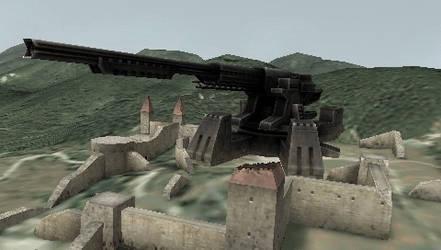 Balaur - Railgun of the Valahia by GulfKiller101