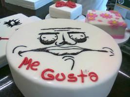 Me gusta Fondant Cake by Nikuzilla
