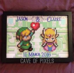 Zelda wedding present by caveofpixels