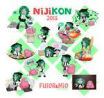 Niji2015 sprites by 6lin