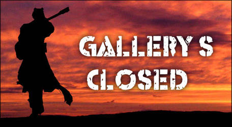 Gallery's Closed by Strype