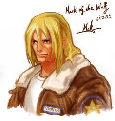 Terry Bogard, ( Mark of the wolf ) by makthedragon76