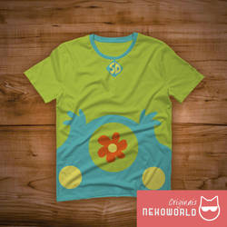 Scooby doo - Tshirt by GasaiYoshi