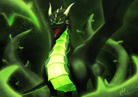 Wrath of the nature guardian by Garlegas