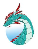 Mystic dragon by Garlegas