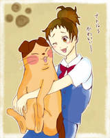 Haru and Natoru by akinta79