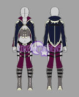 Clothing Adopt Auction: Fantasy Outfit 6 (CLOSED) by xDreamyDesigns