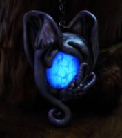 Amulet of Dragon Protection Pendant (Limited Ed.) by MySoulShards