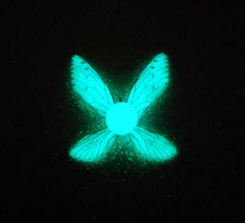 Navi Glowing Necklace - Fairy Companion by MySoulShards
