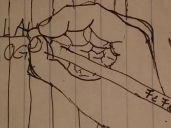 Pen hand drawing by Prismafavorites