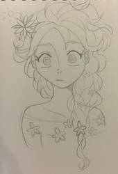 Elsa in springtime by yeaboikat