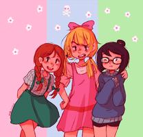 trio by MerryMarmalade