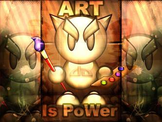 Art is PoWer by Beautiful-Disgrace