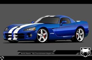 Dodge_Viper_SRT10_Vector by MauricioMassami