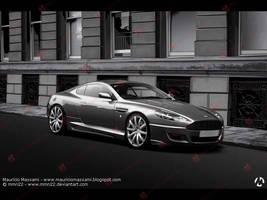 Aston Martin DB9 by MauricioMassami