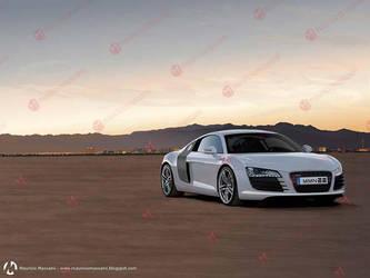Vector Audi R8 by MauricioMassami