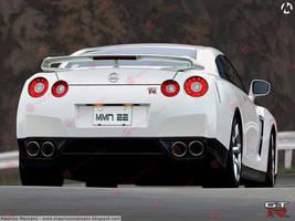 Nissan GT-R by MauricioMassami