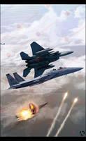 F-15 Second version by MauricioMassami