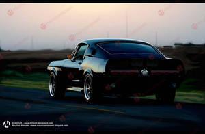 Mustang Shelby GT-500 by MauricioMassami