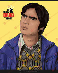 Rajesh Koothrappali by MauricioMassami