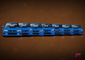 History Subaru by MauricioMassami