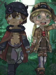 Made in Abyss - Reg and Riko by KentoBalisto
