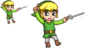 TLOZ The Wind Waker - Toon Link by KentoBalisto