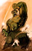 The Hulk by adhytcadelic