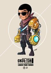 Chester Cyborg by adhytcadelic