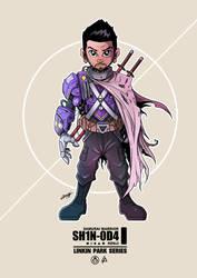 Shinoda Samurai Warrior by adhytcadelic