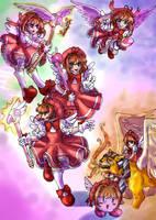 CCSakura - Super Smash Bros by straywillowisp