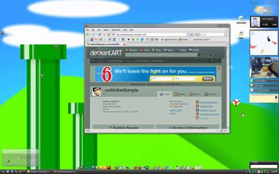 My Desktop by unlimitedlumpia