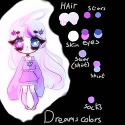 Dreams Color palette  by kylakittycat