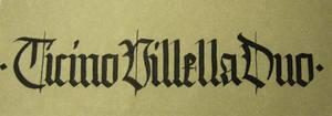 ticinovillelladuo logo by DeRupe