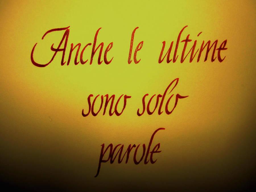 solo parole by DeRupe