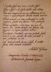 Kahlil Gibran by DeRupe