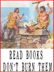 Don't Burn Books by artpirate666